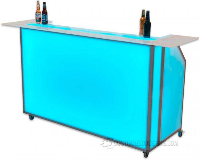 "Wrap Top for 62"" Portable Bar"