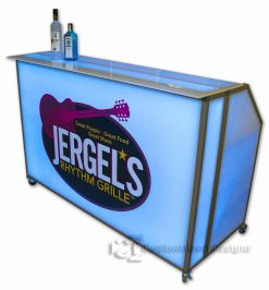 """Square Bar Top for 62"""" Portable Bar"""