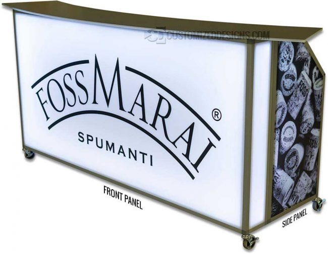 """77"""" Portable Bar Replacement Panels"""