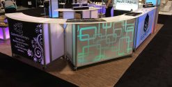 Trade Show Bar Tables for Special Events