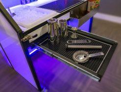 Portable Bar Slide Out Shelf