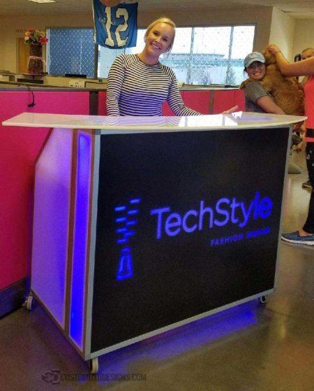 48 Portable Bar Tech Style