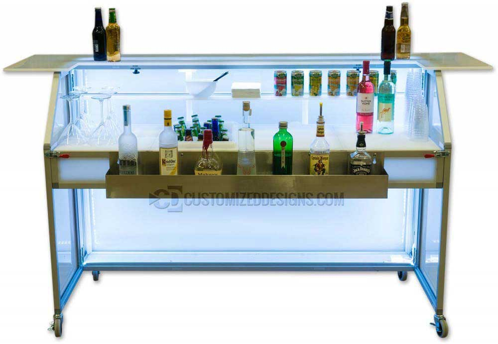 62 Portable Bar - Back View