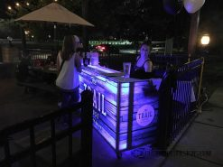 62 Portable Bar - Trail House - Wrap Bar Top