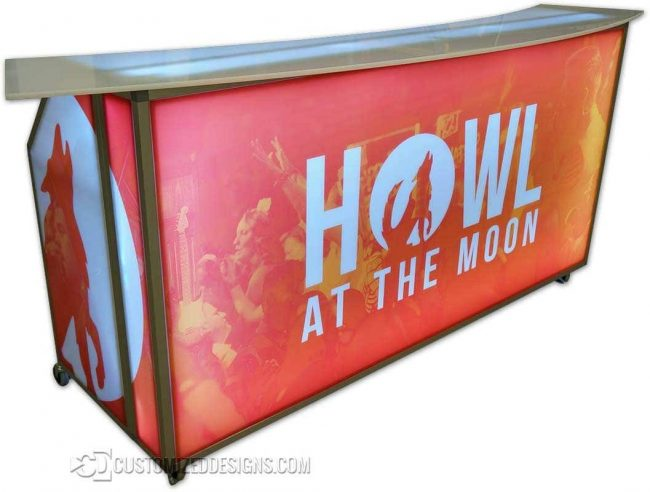 77 Portable Bar Howl At The Moon