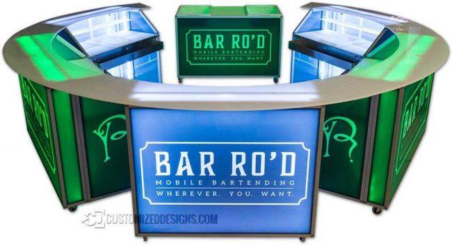 Circular Portable bar