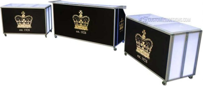 77 Portable Bar & Back Bars