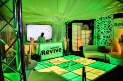 Event Experts Lighted Portable Bar