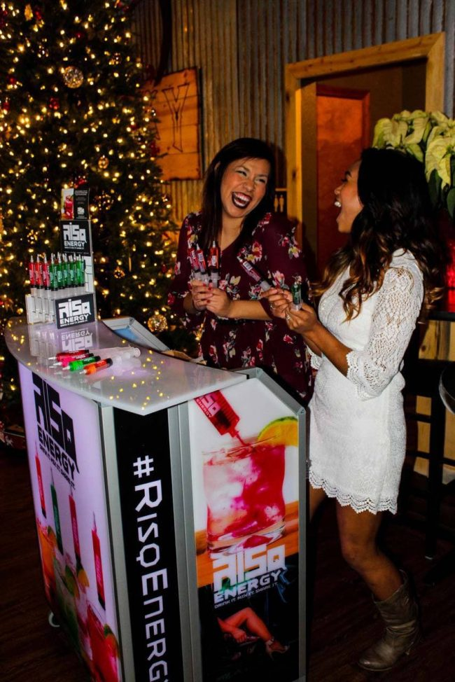 Portable Bar for Energy Drink Promotion