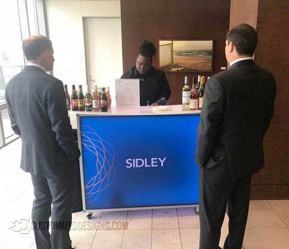 """Sidley 48"""" Portable Bar 2"""