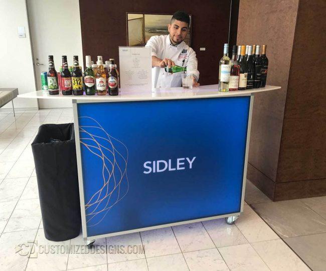 """Sidley 48"""" Portable Bar"""