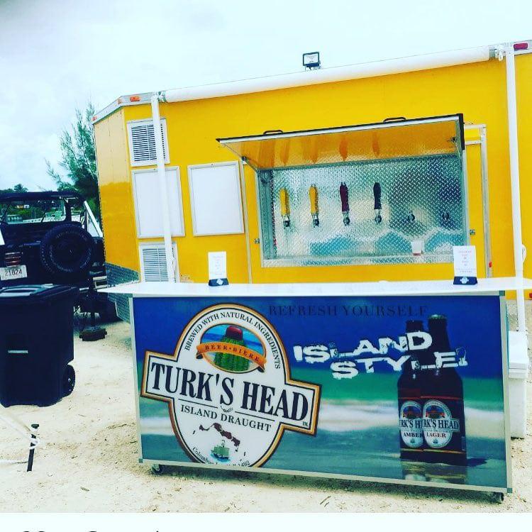 Turks Head Beer Outdoor Beach Bar